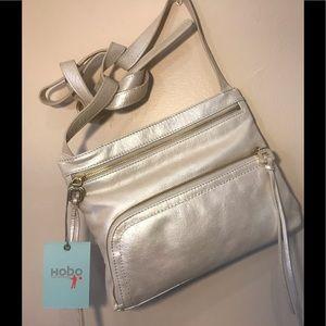New HOBO brand Cassie crossbody bag color Frost